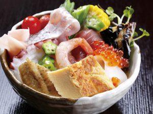 寿司屋の海鮮丼