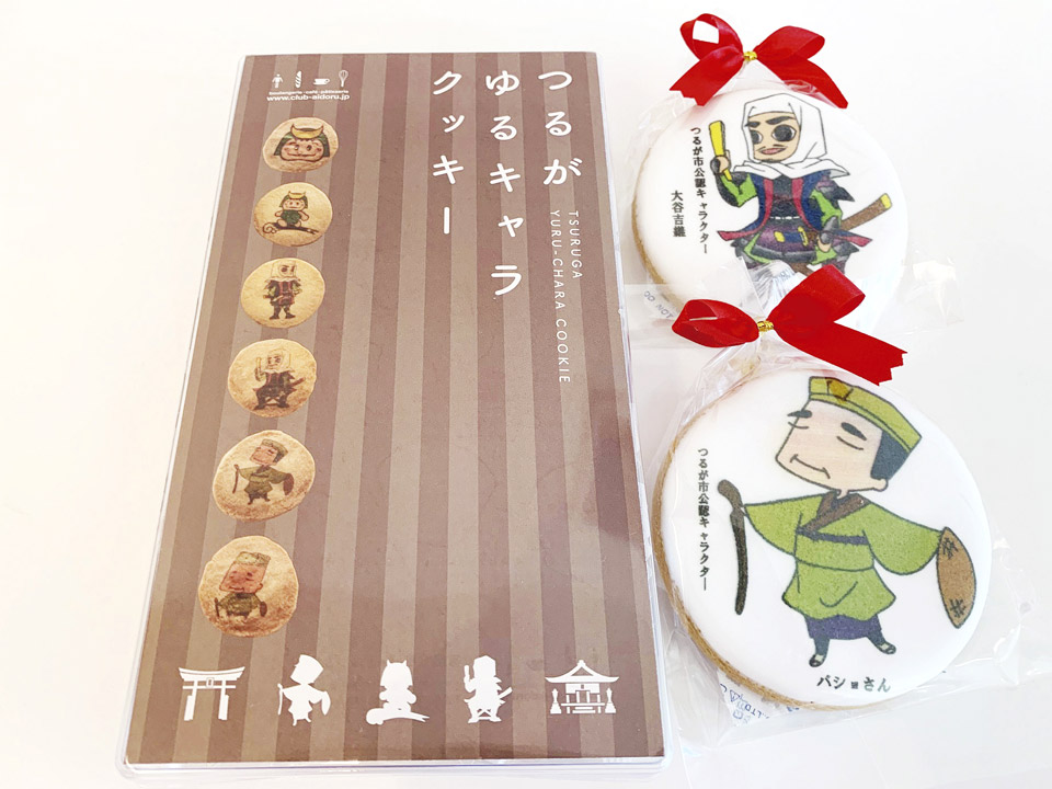 敦賀市公認 限定キャラクタークッキー
