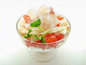 敦賀真鯛のカクテルサラダ
