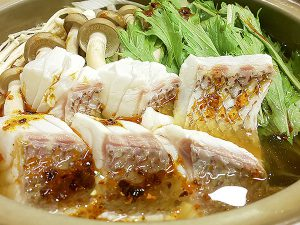 発酵熟成敦賀真鯛の美味辛鍋