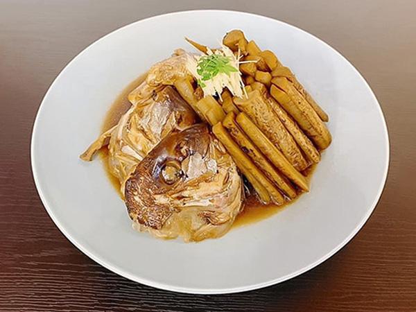敦賀真鯛  鯛のアラ炊き